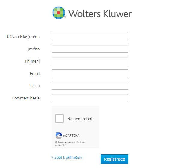 Regisatracni formular